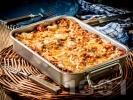 Рецепта Прясна паста лазаня с кайма и доматен сос